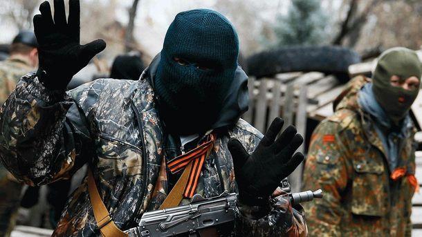 Под Мариуполем боевик сломал нос подчиненному