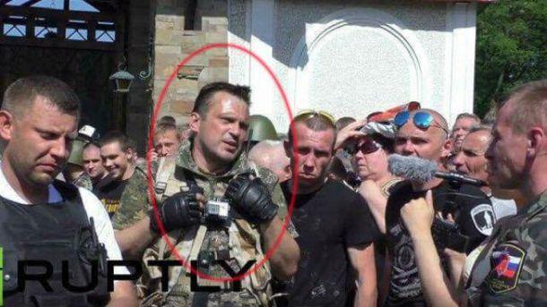 Російські силовики затримали бойовика