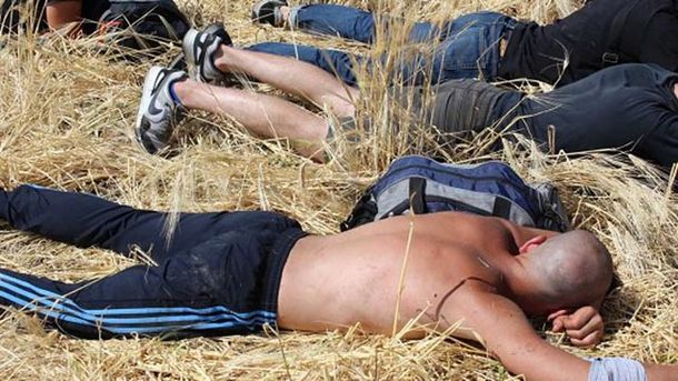 Селяни затримали понад 30 рейдерів, які хотіли захопити ферму