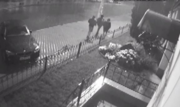 СБУ показала видео с момента нападения на офис