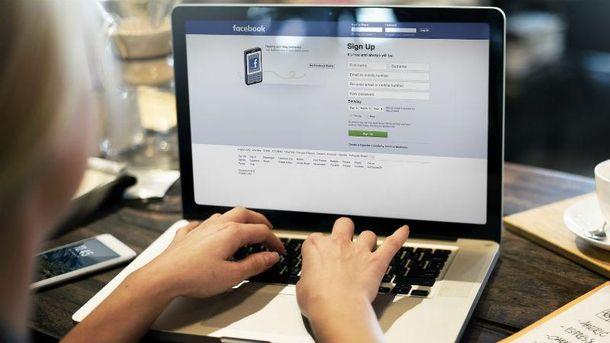 Сколько украинцев зарегистрировались в Facebook