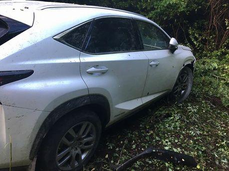 ВЗакарпатье шофёр на Лексус сбил пограничника