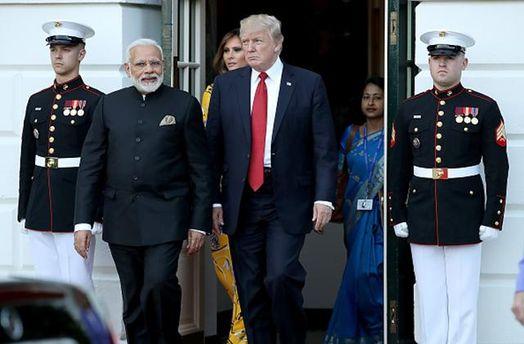 США та Індія проведуть спільні військові навчання