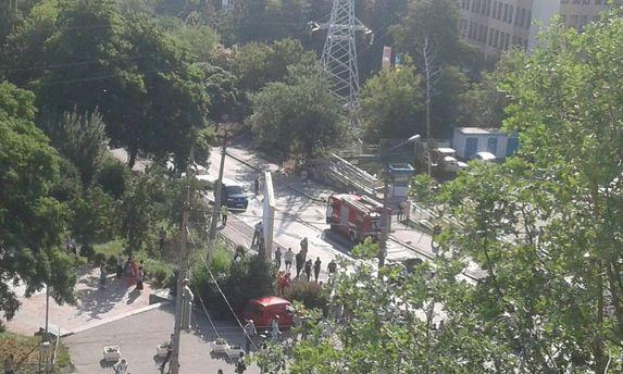 Вибух автомобіля в Києві