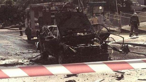 От взрыва авто в Киеве погиб Максим Шаповал: кто может стоять за инцидентом