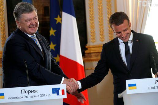 Про встречу Порошенко с Макроном: Президент Украины – выгодный инструмент для Франции