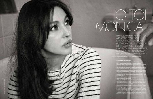 Моника Белуччи для Elle