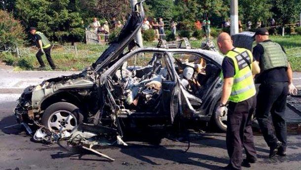 Взрыв авто в Киеве: обнародована важная деталь