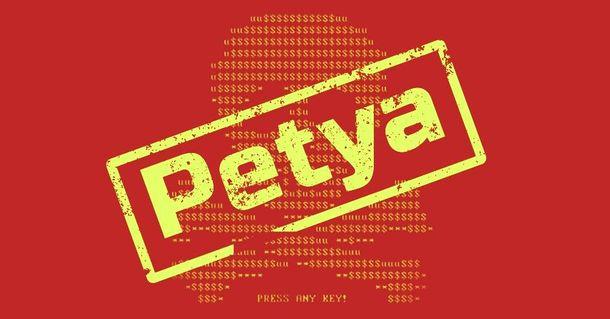 Хакерская атака вирусом-вымогателем Petya.A