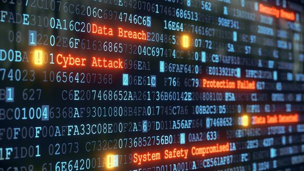 Масштабная хакерская атака в Украине