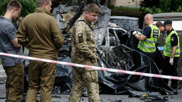 Теракт у Києві: внаслідок вибуху загинув розвідник