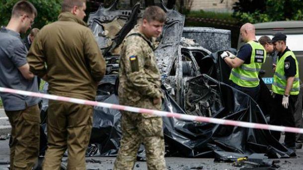 Теракт в Киеве: в результате взрыва погиб разведчик