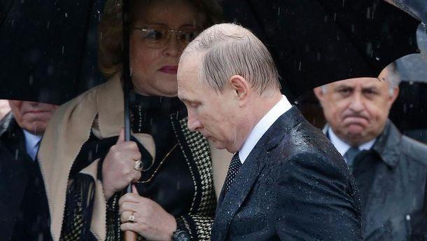 Путину не понравились санкции