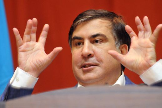 Программу Саакашвили на украинском телеканале закрыли