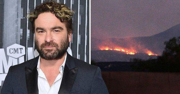Джонні Галецкі втратив будинок через пожежі