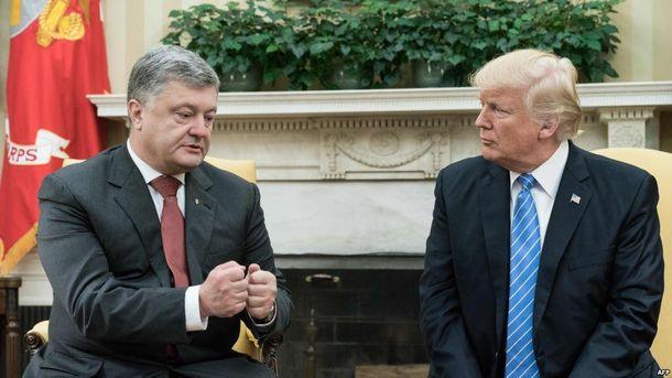 Украина просит унас уголь— Президент США