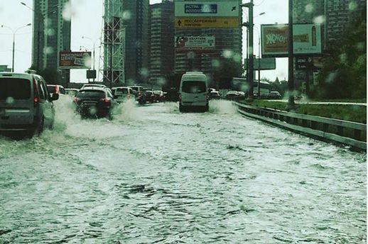 Злива в Москві