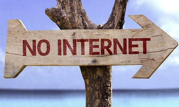 В Крыму пропали мобильная связь и интернет