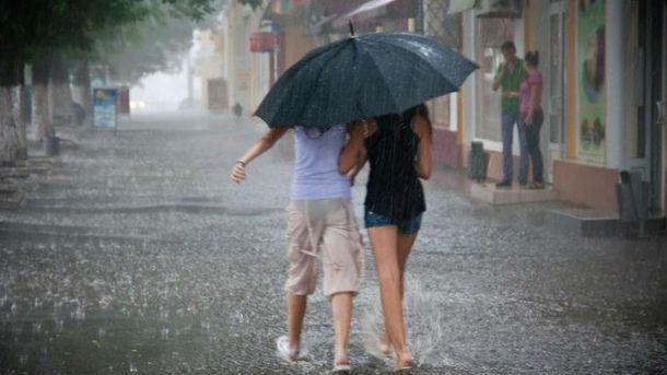 Прогноз погоди в України на 1 липня