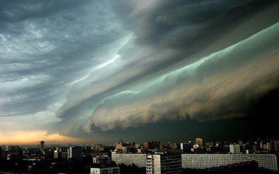 Ливень в Москве наделала много бед