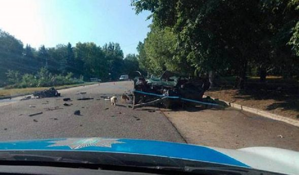 Аварія в Ізюмі