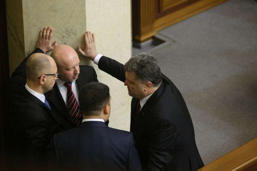 Украина на пороге крутой внутренней разборки