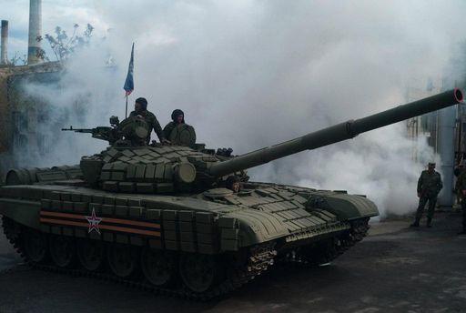 Танк терористів Донбасу