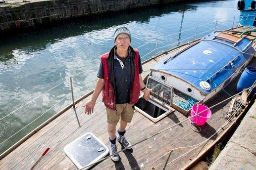 Ричард Огилви и его яхта