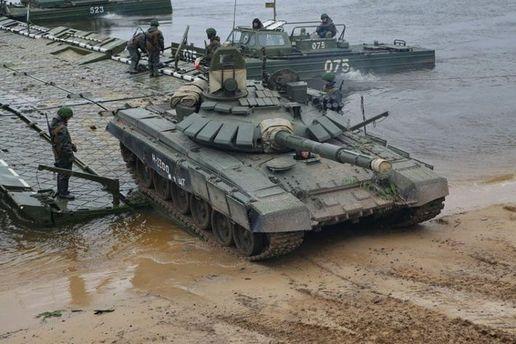 Російський танк Т-72Б3
