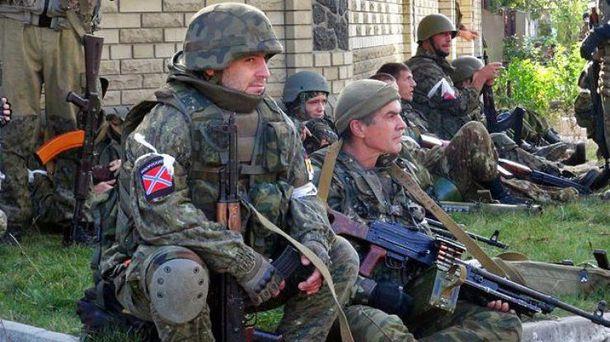 Бойовики хочуть зсунути лыныю фронту на схід