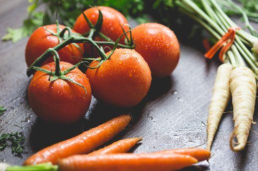 Овочі треба ретельно мити
