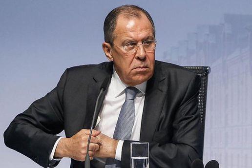 Лавров обмолвился об участии России в войне на Донбассе