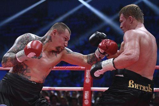 Украинский боксер Руденко хочет реванша с Поветкиным