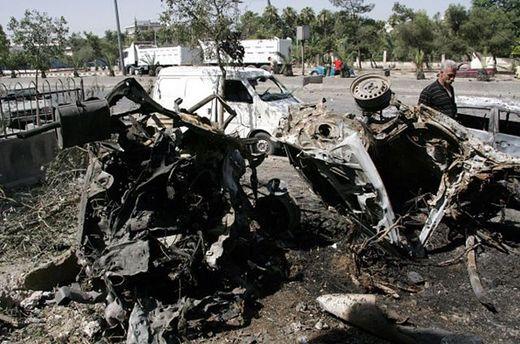 Теракт в Сирии: в Дамаске смертник взорвал автомобиль