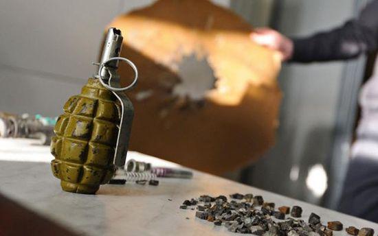 От взрыва гранаты пострадали парень и девушка в Донецкой области
