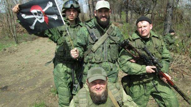 Ликвидация российского командира на Донбассе