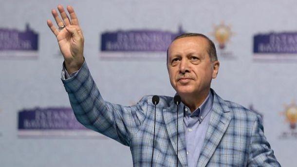 Эрдогану запретили выступать перед турками в Германии