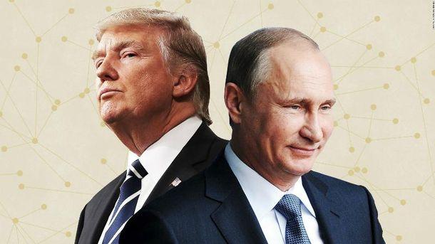 Дональд Трамп вперше після інавгурації зустрінеться з Володимиром Путіним
