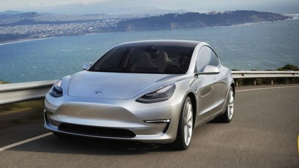 Электрокар Model 3