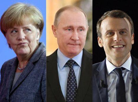 Встреча Путина, Меркель и Макрона: будут говорить об Украине