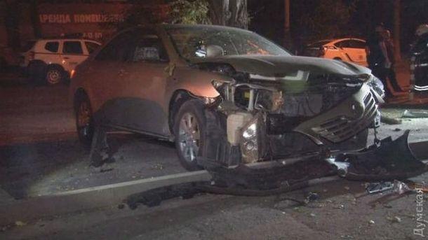 В Одессе взорвали машину