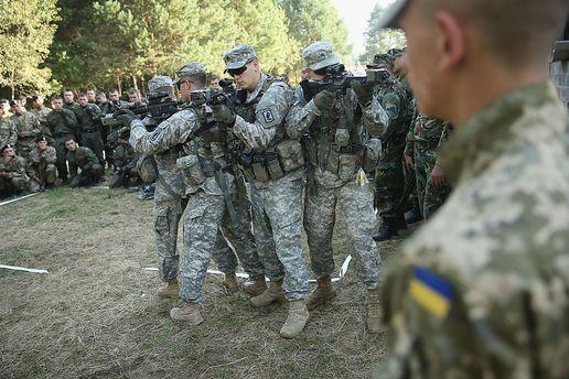 Совместные учения НАТО и Украины