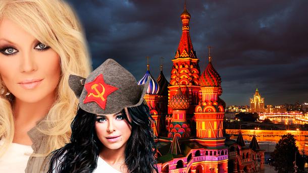 Чимало українських артистів досі виступають у Росії