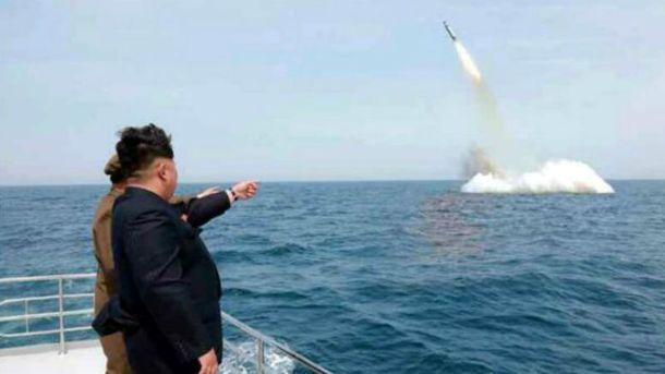 За запуском баллистической ракеты наблюдал Ким Чен Ын (иллюстрация)