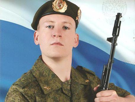 Российский военный Виктор Агеев находится в СИЗО