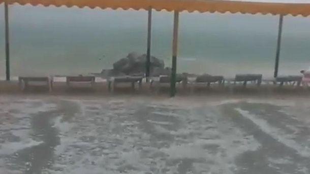 Непогода на Херсонщине
