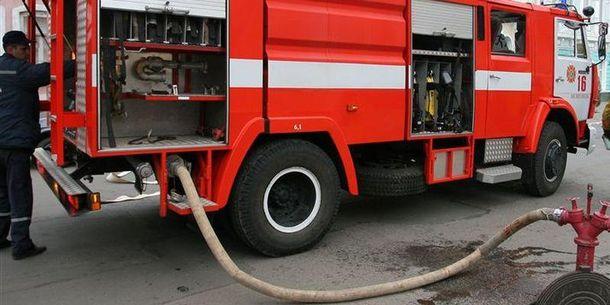 Пожежа сталася на Центральному ринку