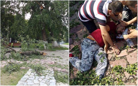 Трагедия в Киеве. Фото с места событий