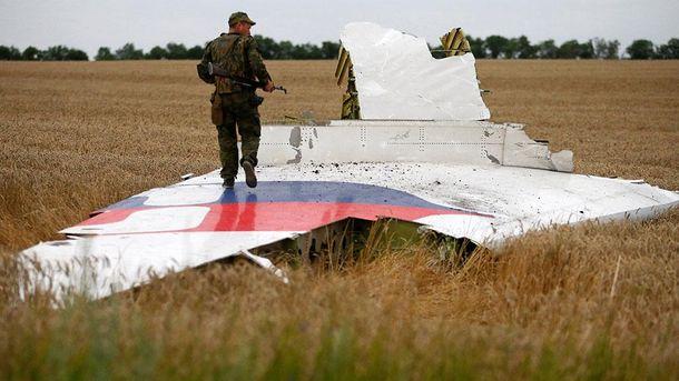 Уламки збитого Boeing