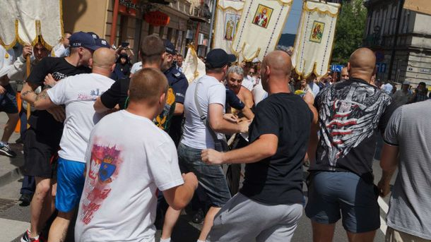 Напад на українську процесію у Перемишлі у 2016 році